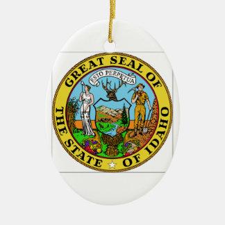 Idaho State Seal Christmas Ornament
