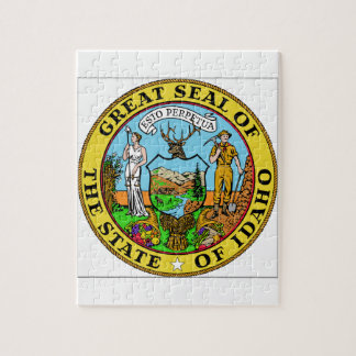 Idaho State Seal Jigsaw Puzzle