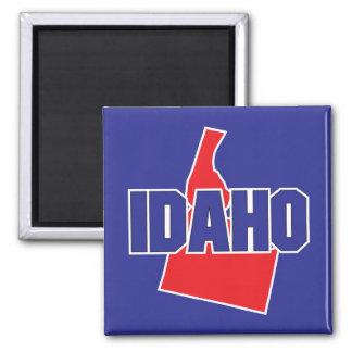 Idaho State Square Magnet