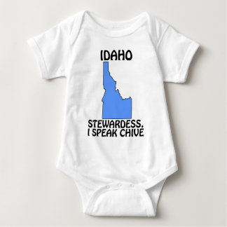 Idaho - Stewardess, I Speak Chive Baby Bodysuit