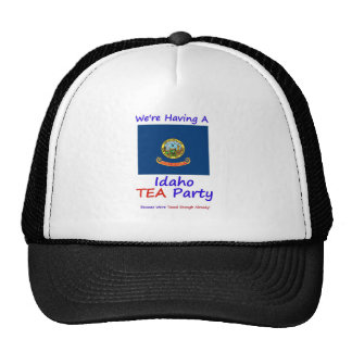 Idaho TEA Party - We re Taxed Enough Already Trucker Hat