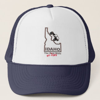 IDAHO The OFF-ROAD State, Jeep. Hat