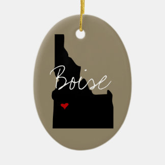 Idaho Town Christmas Ornament