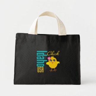 Idaho USA Chick Tote Bags