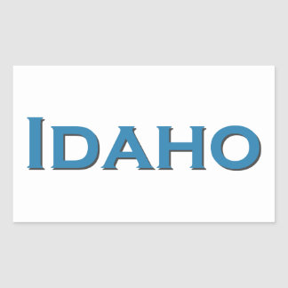 Idaho USA Rectangular Sticker