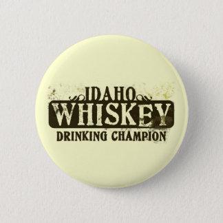 Idaho Whiskey Drinking Champion 6 Cm Round Badge