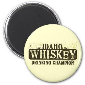 Idaho Whiskey Drinking Champion Magnet