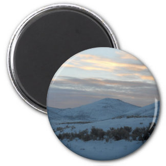 Idaho winter magnet