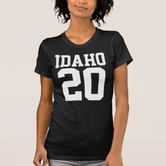 Idaho With Number (Customizable Number) T-Shirt