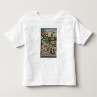 IdahoLarge Letter ScenesIdaho Toddler T-Shirt
