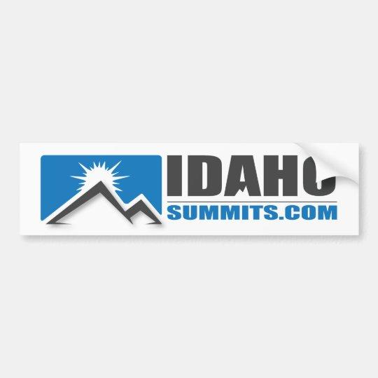 Idahosummits.com Bumper Sticker
