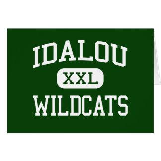 Idalou - Wildcats - High School - Idalou Texas Greeting Card
