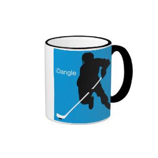 iDangle (blue) Mug