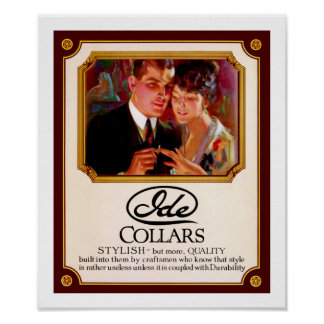 Ide Collars Poster