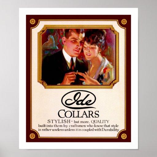 Ide Collars Print