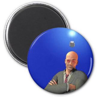idea 6 cm round magnet