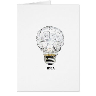 Idea Greeting Card