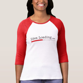 Idea Loading with Status Bar T-shirt