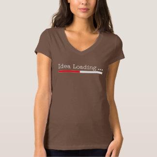 Idea Loading with Status Bar Tshirt