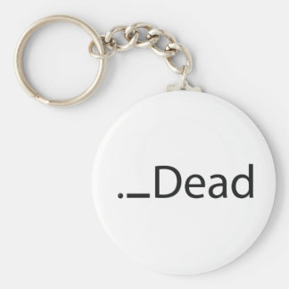 iDead Basic Round Button Key Ring