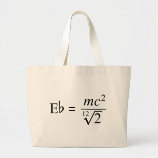 Ideal for the Music and Science geek Canvas Bag