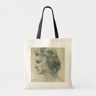 Ideal Head of a Woman by Michelangelo Tote Bag