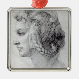 Ideal Head of a Woman, c.1525-28 Christmas Ornament