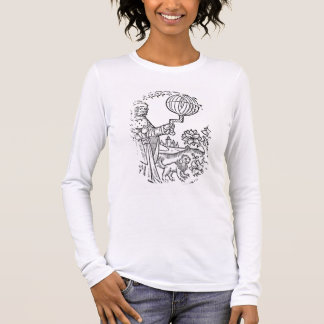 Ideal Portrait of Aristotle (384-322 BC), copy of Long Sleeve T-Shirt