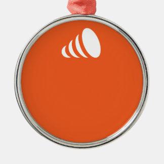 ideama orange... christmas ornament