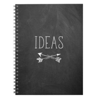 Ideas Chalkboard Notebook