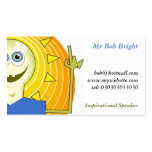 Ideas Man, Mr Bob Bright Double-Sided Standard Business Cards (Pack Of 100)