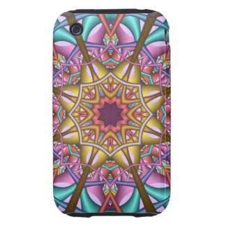 iDecorative abstract Phone 3G/3GS Case-Mate Tough™ iPhone 3 Tough Cases