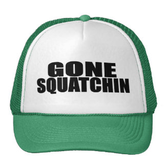 IDENTICAL to BOBO s ORIGINAL GONE SQUATCHIN Hat