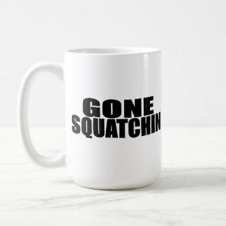 IDENTICAL to BOBO's *ORIGINAL* GONE SQUATCHIN Coffee Mug