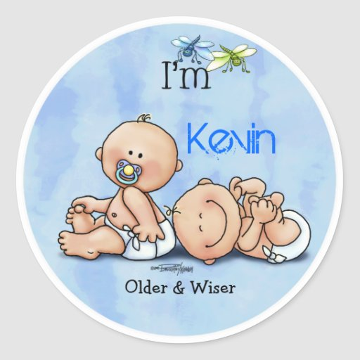 Identical Twin Boys Sticker
