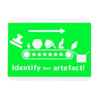 Identify that Artefact Fridge Magnet