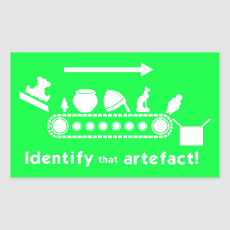 Identify that Artefact Stickers