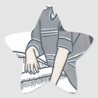 Identity Crisis Star Sticker
