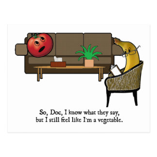 Identity Crisis, Tomato Sees Psychiatrist Postcard