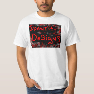 IDENTITY DESIGNS IDENTIFY YOURSELF TEE SHIRT