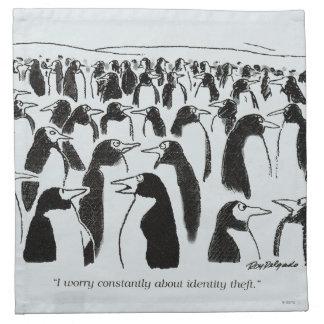 Identity Theft Napkin
