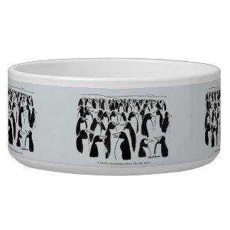 Identity Theft Pet Food Bowls