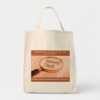 Identity Theft Shopping Bag