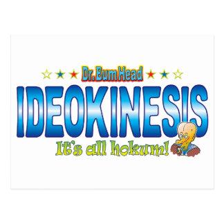 Ideokinesis Dr. B Head Postcard