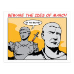 Ides of March Postcard