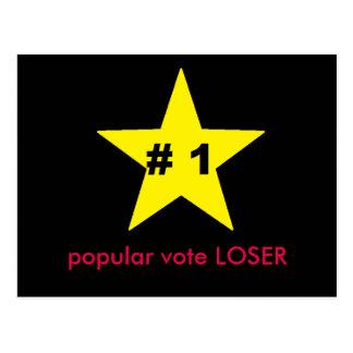 ides of trump popular vote loser postcard