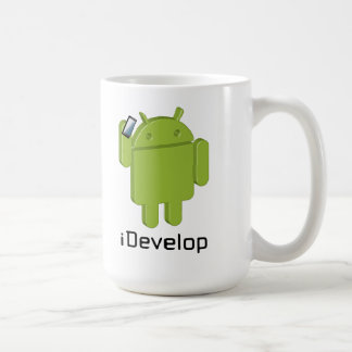 iDevelop coffee mug