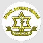 IDF - Israel Defence Forces insignia Round Sticker