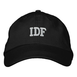 IDF ISRAEL DEFENSE FORCE EMBROIDERED HAT