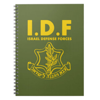 IDF Israel Defense Forces - ENG Note Book